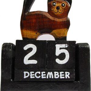 Wood Carvings & Calendars
