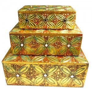 Set of 3 Jewellery Boxes